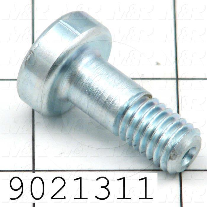 Fabricated Parts, Turnbuckle Attaching Bolt, 1.28 in. Length, 3/8-16 Thread Size