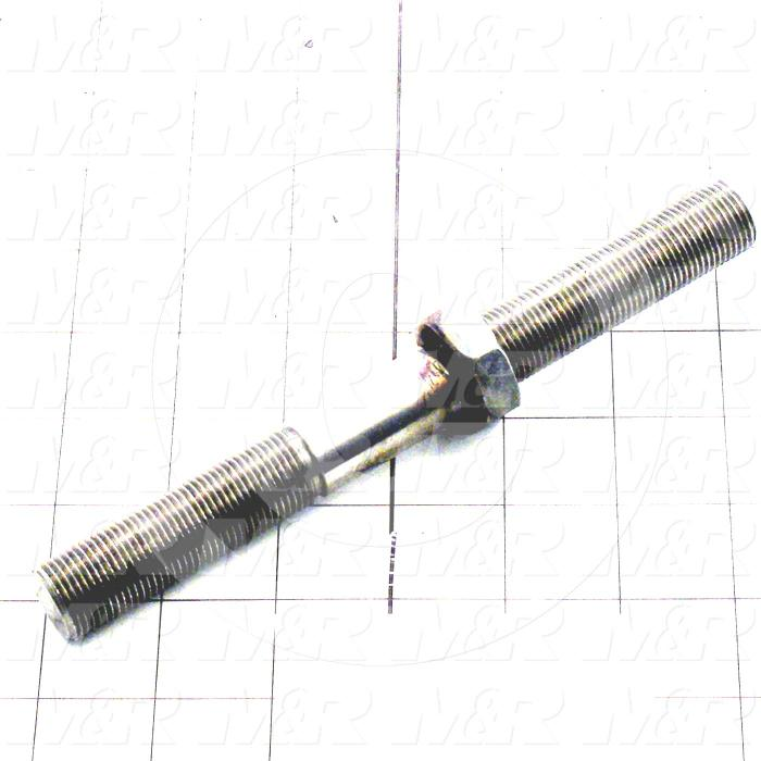 Fabricated Parts, Turnbuckle Index, 7.38 in. Length, 3/4-16 Thread Size
