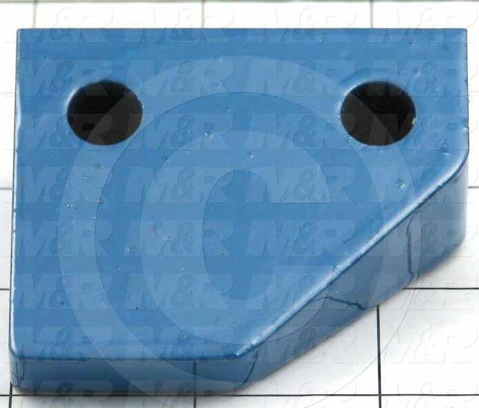 Fabricated Parts, Upper Carousel Guide, 2.50 in. Length, 2.13 in. Width, 1.25 in. Height, Right Side