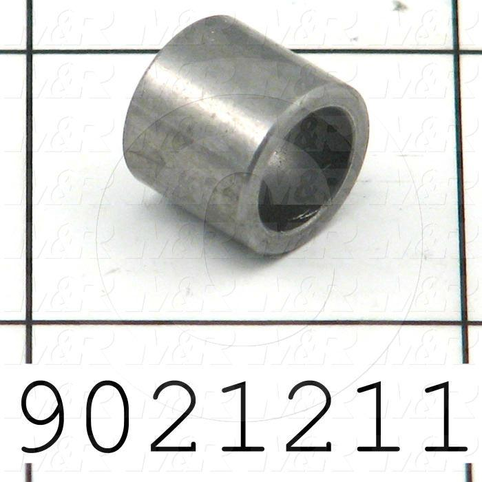 Fabricated Parts, Upper Guide Bushing, 0.34 in. Length, 0.44 in. Diameter