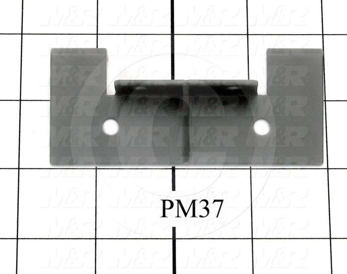 Fabricated Parts, Upper Lift Arm Bracket, 3.62 in. Length, 1.38 in. Width, 1.50 in. Height, Black Finish