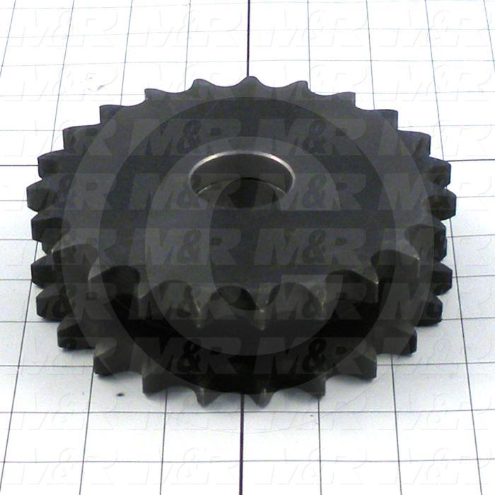 Fabricated Parts, Upper Sprocket Weldment, 5.99 in. Diameter