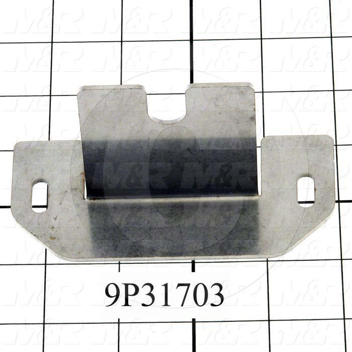 Fabricated Parts, UV Lamp Reinforcement, 4.50 in. Length, 2.13 in. Width, 2.38 in. Height
