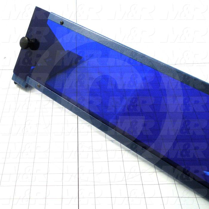 Fabricated Parts, UV Light Filter Assembly, 50.25 in. Length