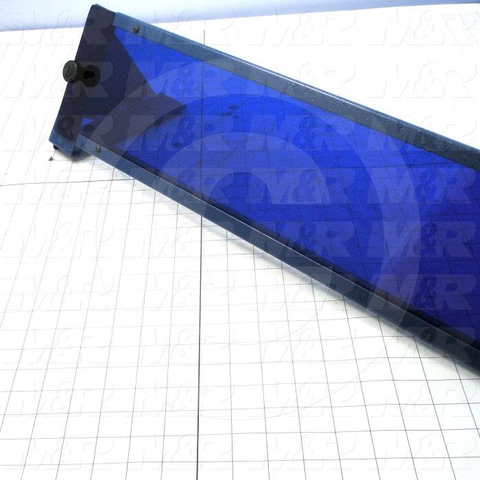 Fabricated Parts, UV Light Filter Assembly, 66.25 in. Length