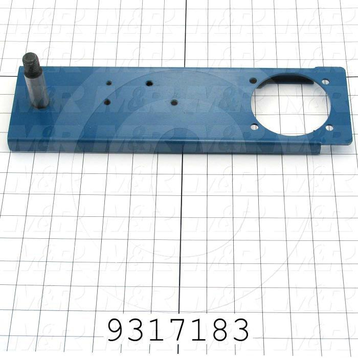 Fabricated Parts, Valve Actuating Lever, 13.75 in. Length, 4.00 in. Width, 1.75 in. Height
