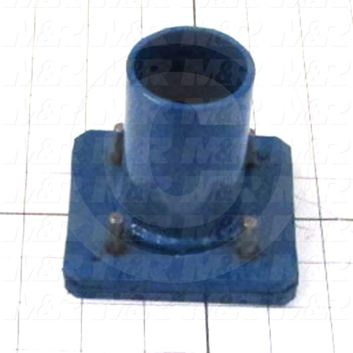 Fabricated Parts, Valve Plate Assembly, 3.75 in. Length, 3.46 in. Width, 3.50 in. Height