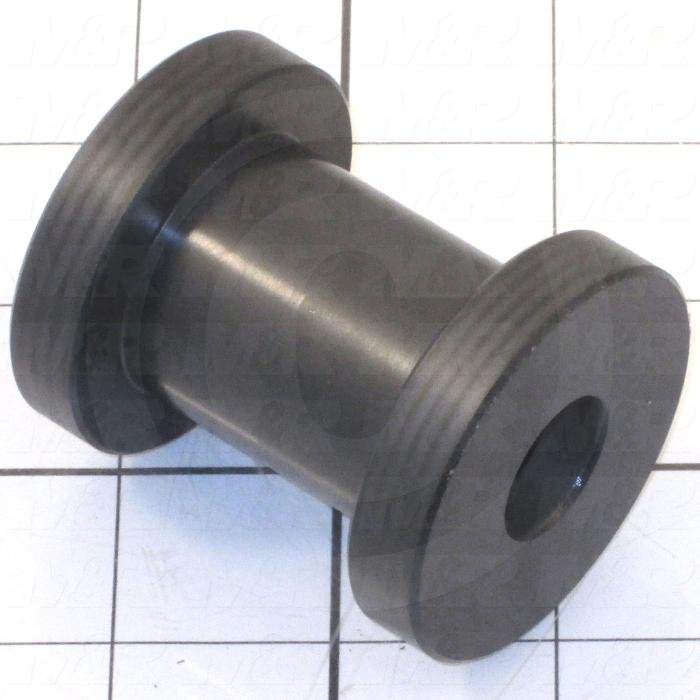 Fabricated Parts, Vertical Carriage Roller, 2.38 in. Length, 1.98 in. Diameter