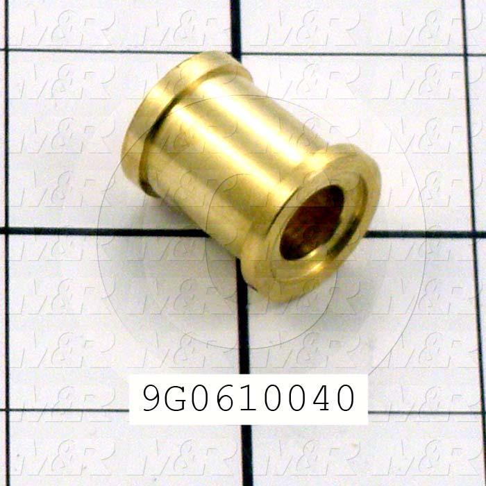 Fabricated Parts, Wiper Roller Bushing, 0.88 in. Length, 0.75 in. Diameter