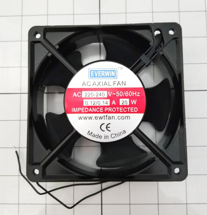 Fans, AC Fan, 220VAC, 0.14A