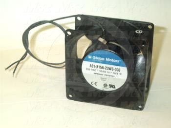 "Fans, AC Fan, 3"", 230VAC, 50/60Hz, without Guard, with Cord"
