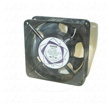 "Fans, AC Fan, 4"", 230VAC, 50/60Hz, with Guard, with Cord"
