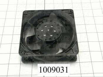 "Fans, AC Fan, 4.69"", 230VAC, 50/60Hz, 106CFM"