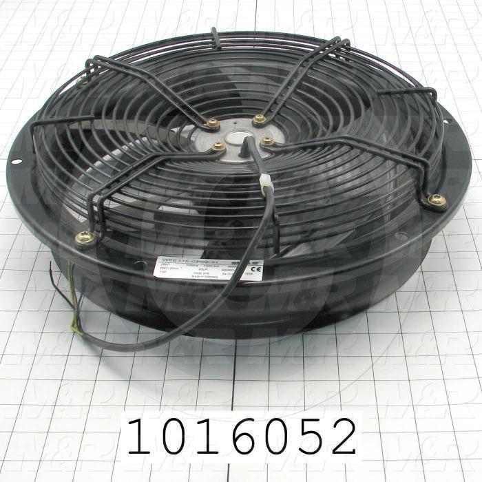 Fans, AC Fan, 68W, 230VAC, 0.3A, 50/60Hz, 1135CFM