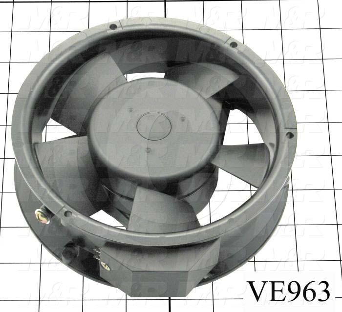 Fans, Axial Fan, 240VAC, 240CFM