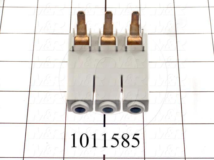 Feeder Lugs, Connect Above 63A, Max 2AWG Wire, 3RV103