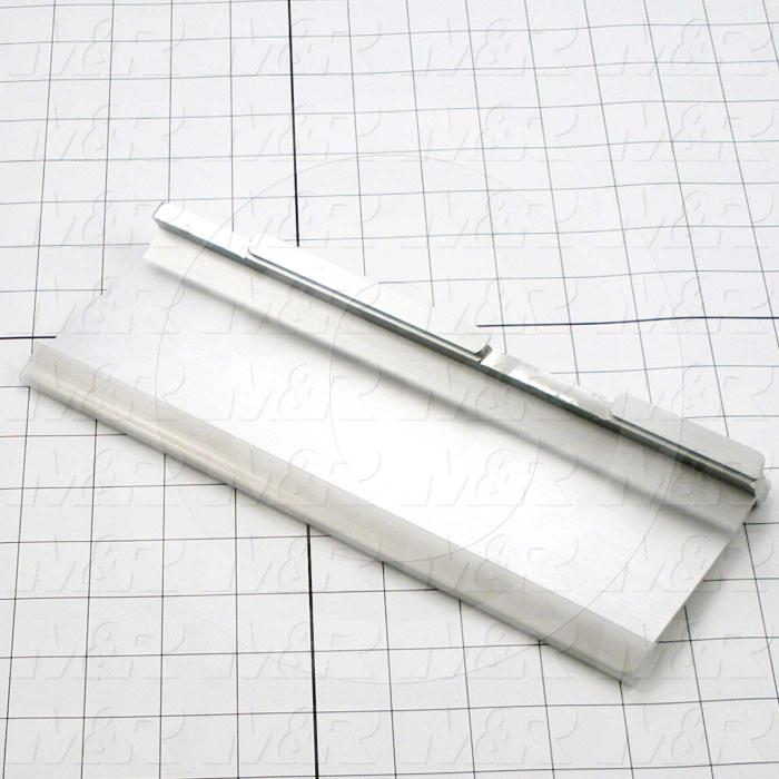 Flood Bars, Textile Press, Double Notch, Length 10""