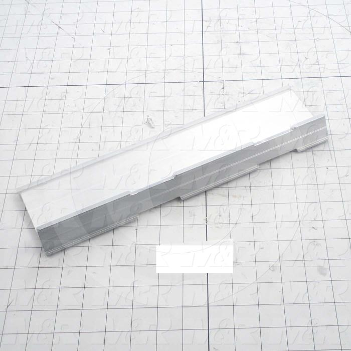 Flood Bars, Textile Press, Double Notch, Length 14 - Details