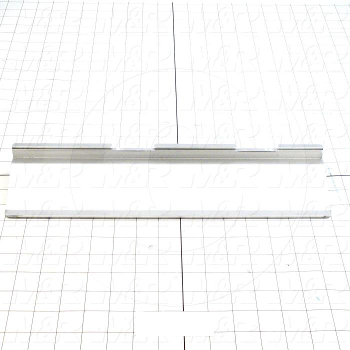 Flood Bars, Textile Press, Double Notch, Length 15""