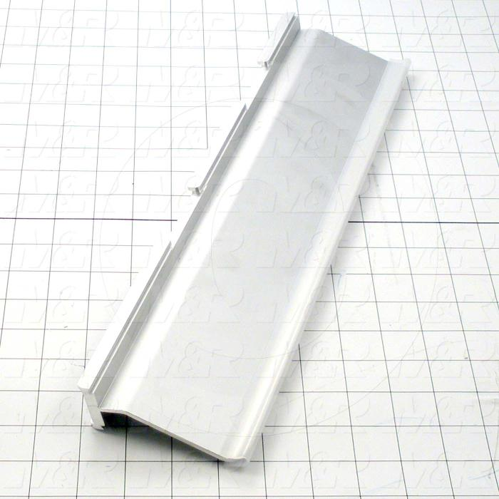 Flood Bars, Textile Press, Double Notch, Length 16 in.