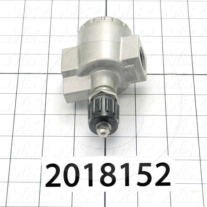 "Flow Control, Speed Controller Type, 1/2"" NPT Port In, 1/2"" NPT Port Out, Standard Control Type, 6600 l/min Flow Rate"