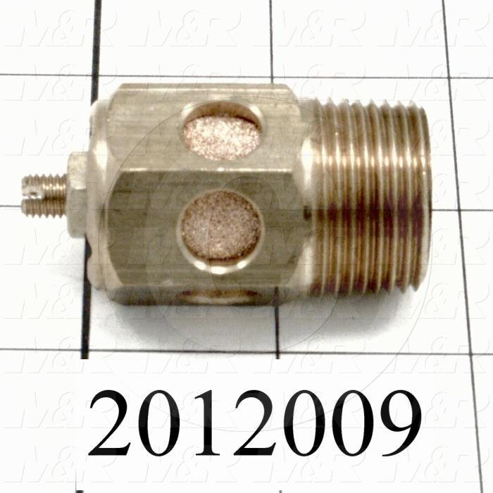"Flow Control, Speed Controller Type, 3/4"" NPT Port In, 3/4"" NPT Port Out, Standard Control Type, 2280 l/min Flow Rate"