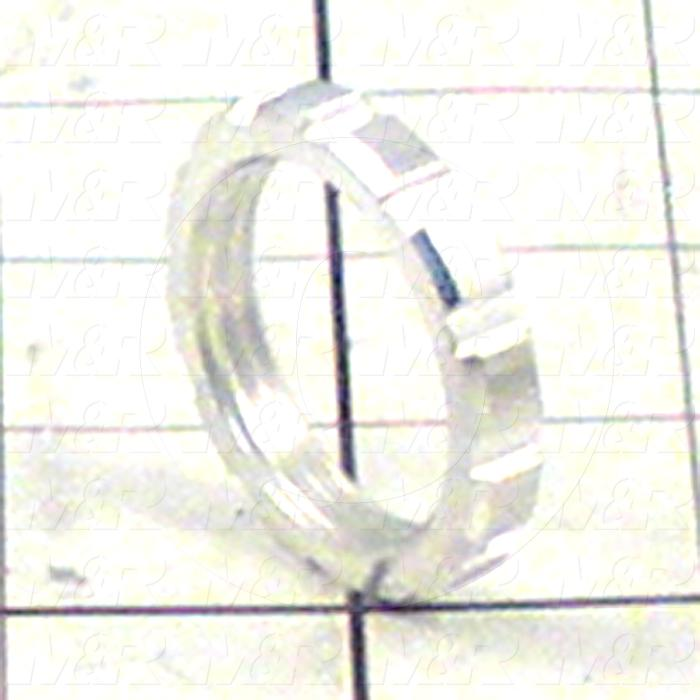 "FLR Accessories, Mounting Nut For 1/4""Regulator"