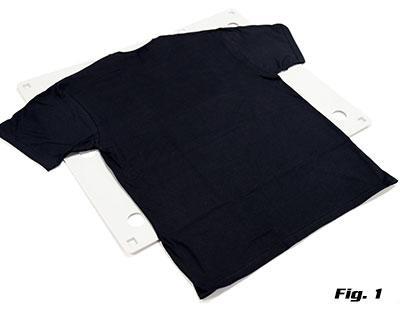 t-shirt flip folder