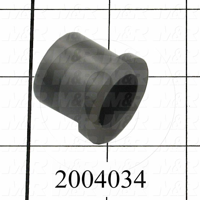 "Friction Bearings, Flanged Type, Iglide M250 Material, 0.75 in. Inside Diameter, 1.00"" Outside Diameter, 1.250"" Flange Diameter, 0.156"" Flange Thickness, 1.00"" Overall Length"