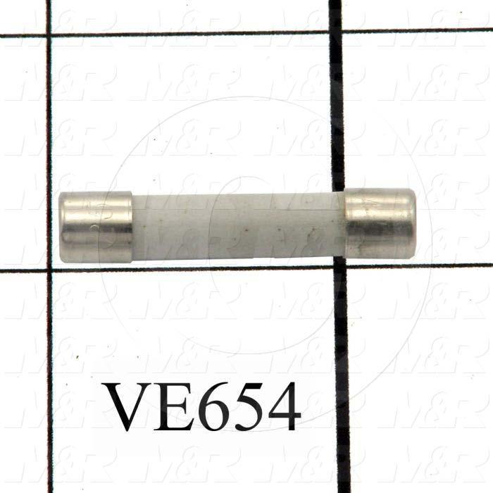 Fuse, 250VAC, 8A