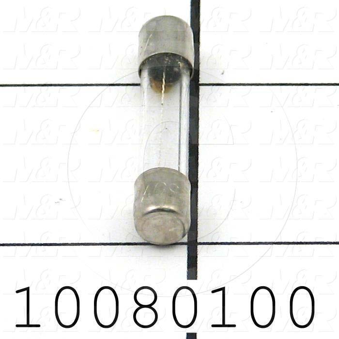 Fuse, Glass, 250VAC, 6A