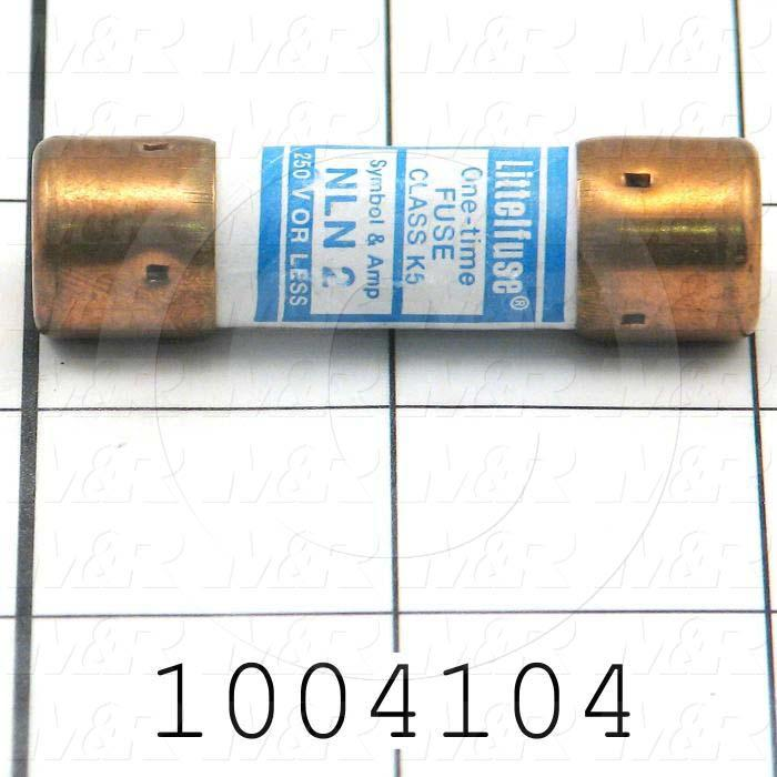 Fuse, K5, 250VAC, 2A, Fast Acting