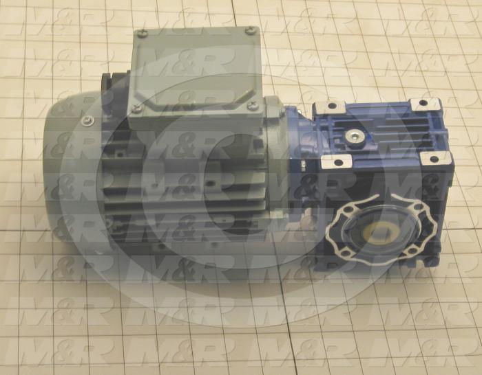 Gearmotors, Ratio 10:1, Output Type Hollow Bore, Output Diameter 18 mm, Voltage 230/460V 3PH 60Hz