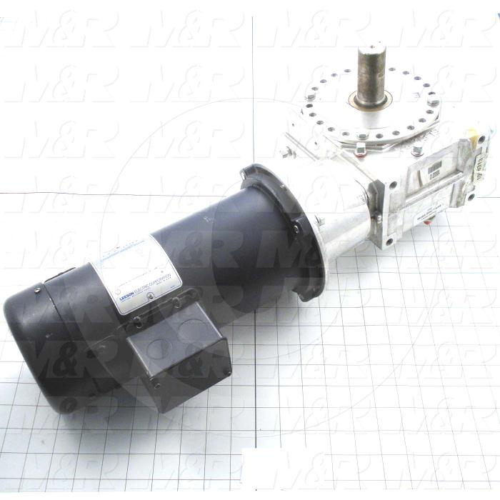 Gearmotors, Ratio 60:1, Output Type Output Shaft (Single), Motor HP 3/4 hp, Voltage 90VDC