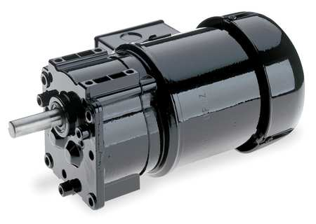 """Gearmotors, Type Parallel Shaft, Type of Gears Helical, Ratio 19:1, Output Type Output Shaft (Single), Output Diameter 5/8"""", Output Torque 100 in-lbs, Output Rpm 90 rpm"""