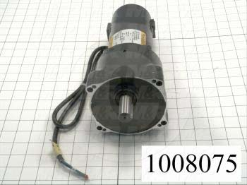 """Gearmotors, Type Parallel Shaft, Type of Gears Helical, Ratio 20:1, Output Type Output Shaft (Single), Output Diameter 3/4"""", Output Torque 100 in-lbs, Output Rpm 125 rpm"""