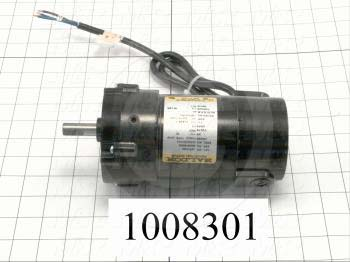 "Gearmotors, Type Parallel Shaft, Type of Gears Helical, Ratio 60:1, Output Type Output Shaft (Single), Output Diameter 1/2"", Output Torque 112 in-lbs, Output Rpm 43 rpm"