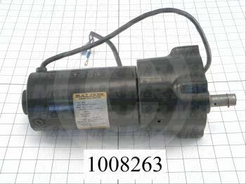 """Gearmotors, Type Parallel Shaft, Type of Gears Helical, Ratio 60:1, Output Type Output Shaft (Single), Output Diameter 3/4"""", Output Torque 280 in-lbs, Output Rpm 42 rpm"""