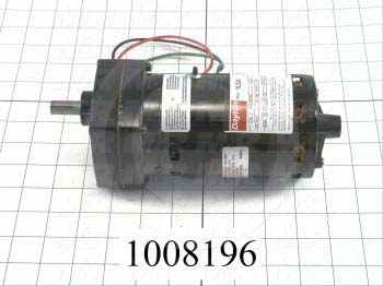 "Gearmotors, Type Parallel Shaft, Type of Gears Helical- Spur, Ratio 96:1, Output Type Output Shaft (Single), Output Diameter 1/2"", Output Torque 100 in-lbs, Output Rpm 16.7 rpm"