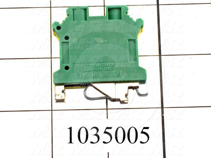 Ground Terminal Block, 1 Pole