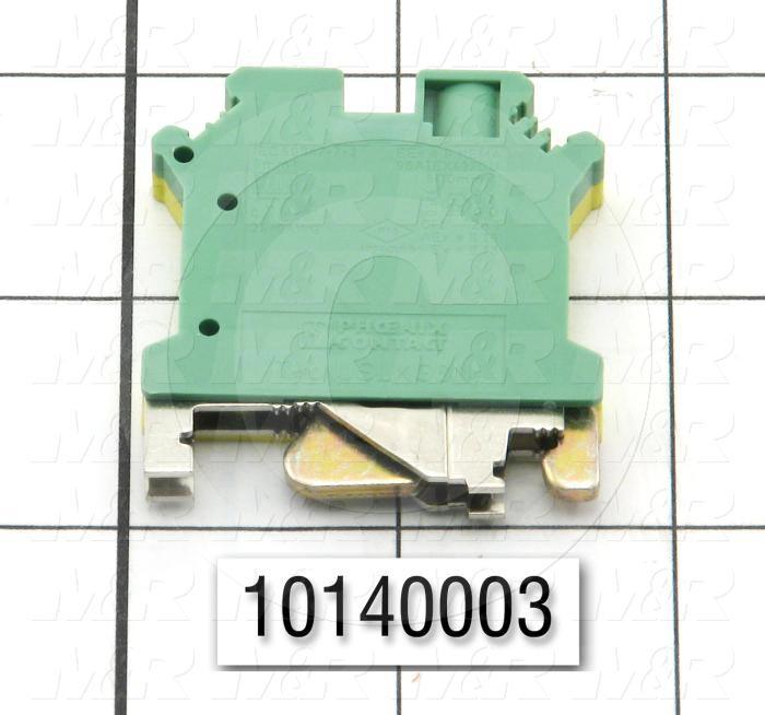 Ground Terminal Block, 26-8AWG