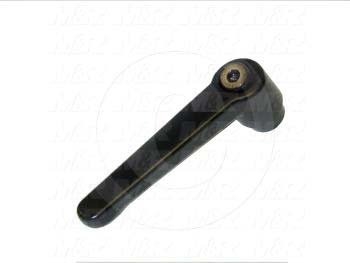 Handles, Adjustable Handle Type, Threaded Hole Mounting, Unknown Material, 1/2-13 Thread Size