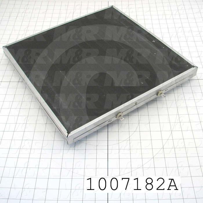 "Heat Panel, 16""x16"", 120VAC, Terminals on Side"