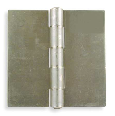 "Hinge, Door/Butt, Surface Mounting Style, 4.00"" Width, 4.00 in. Overall Length, 0.18"" Thickness, Steel"