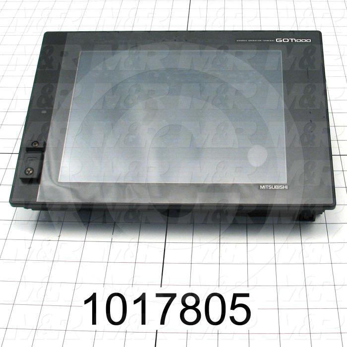 "HMI Panel, 10.4"", Touch Screen, TFT Color, 24VDC"