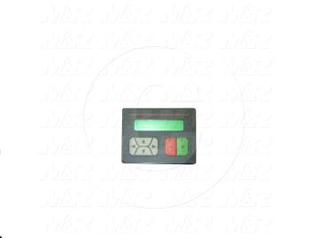 "HMI Panel, 3.5"", 1 Line 16 Charactors Display, 24V"