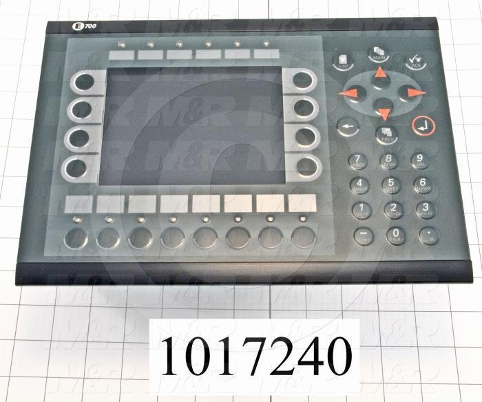 "HMI Panel, 3.5"", Alphanumeric, 16 Colors Backlit LCD, 24VDC, RS232"