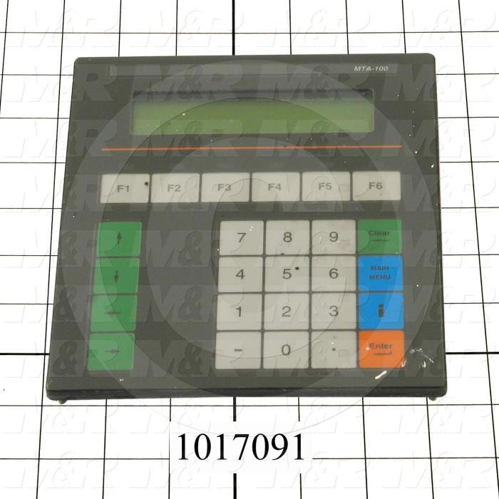 "HMI Panel, 3.5"", Alphanumeric, 2 Lines Display, 24V"