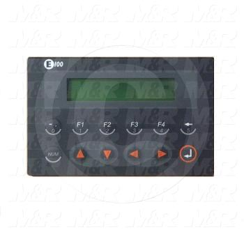 "HMI Panel, 3.5"", Alphanumeric, 2 Lines Display, 5VDC, RS232, RS422"