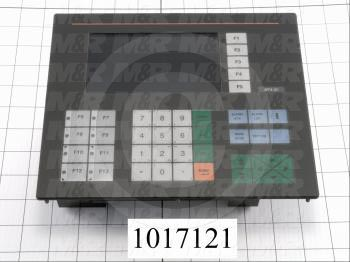 "HMI Panel, 3.5"", Alphanumeric, Monochrome, 24V"